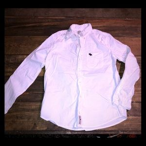 White Abercrombie dress shirt